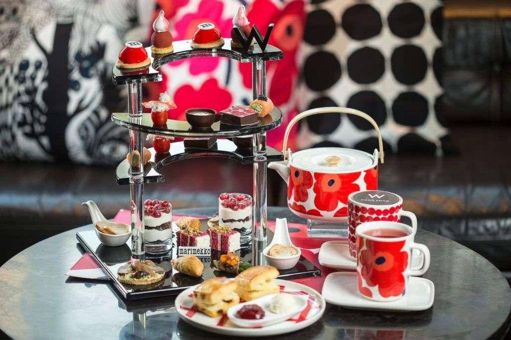 Marimekko's afternoon tea set