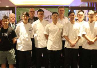 Young chefs at Educational Restaurant