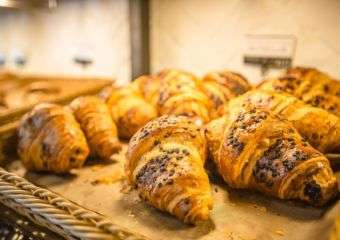 Croissants from L' Elysee Bakery in Taipa Macau