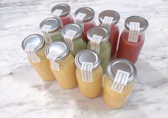 Baptiste Brichon Pâtisserie fresh juice