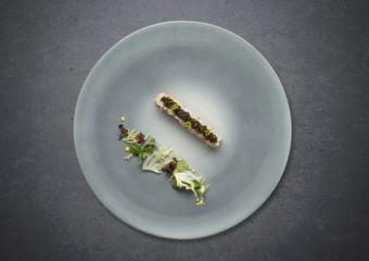 Bombana Hokkaido King crab, fennel emulsion, Amalfi lemon, River Beluga caviar