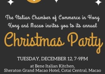 Italian Chamber of Commerce Macau Christmas