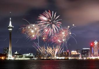 fireworks Macau