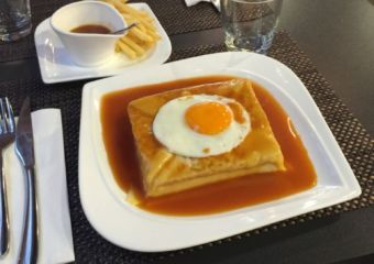 Portuguese dishes in macau franceisinha
