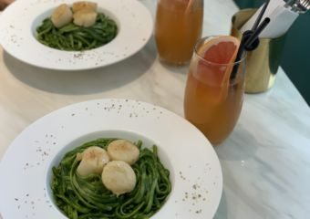 Mr Lady Cafe Interior Scallops Pasta Detail Macau Lifestyle