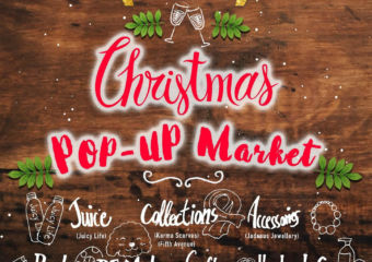 Pop Up Market Christmas Lax Cafe