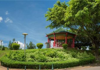 Taipa Grande Nature Park pavillion