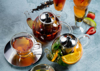 Tea infusions Palms Cafe