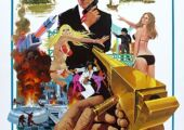 james bond and the golden gun poster