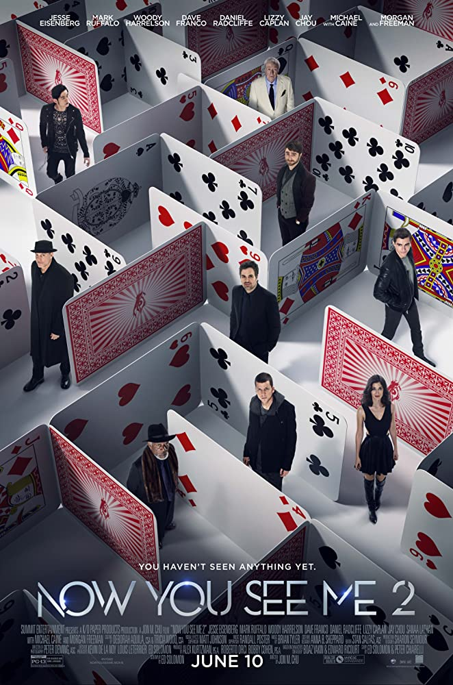 now you see me movie 2011 poster