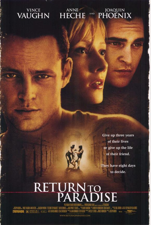 return to paradise movie poster 1998