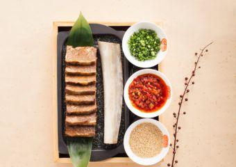 Macau Lifestyle Feng Wei Ju StarWorld Hotel – Beef Loin with Lotus Paste