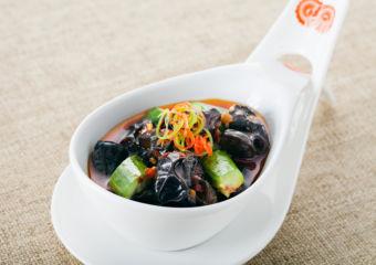Macau Lifestyle Feng Wei Ju StarWorld Hotel – Black Fungus and Cucumbers in Black Vinegar