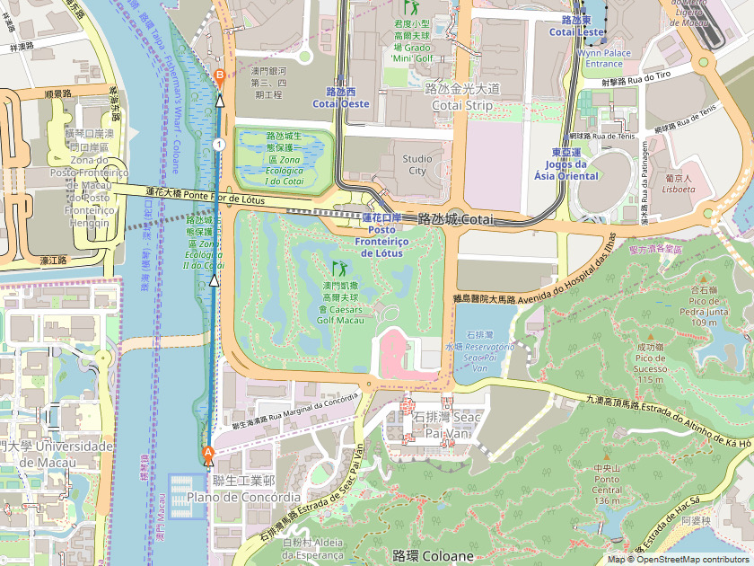 lotus trail coloane running routes