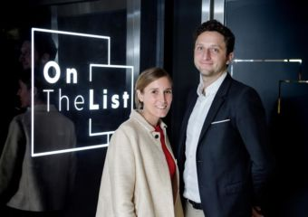 OnTheList Delphine Lefay and Diego Dultzin Lacoste