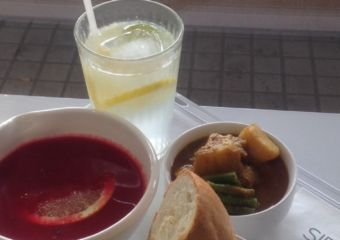 Sip Sop Soup set meal