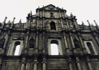 Ruins st paul Macau