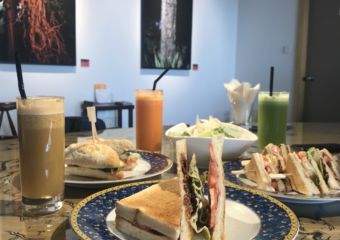 IFT Cafe sandwiches and drinks