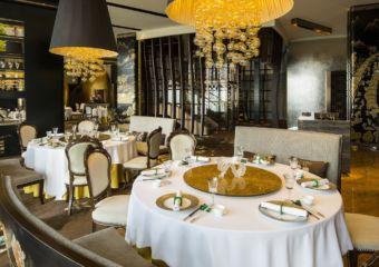 Jade Dragon restaurant located in the City of Dreams, Macau.