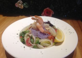 Peace of Cake thai rainbow noodles