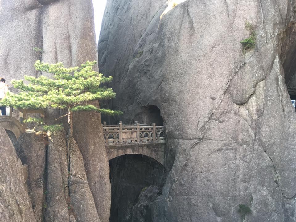 huangshan mountain bridge