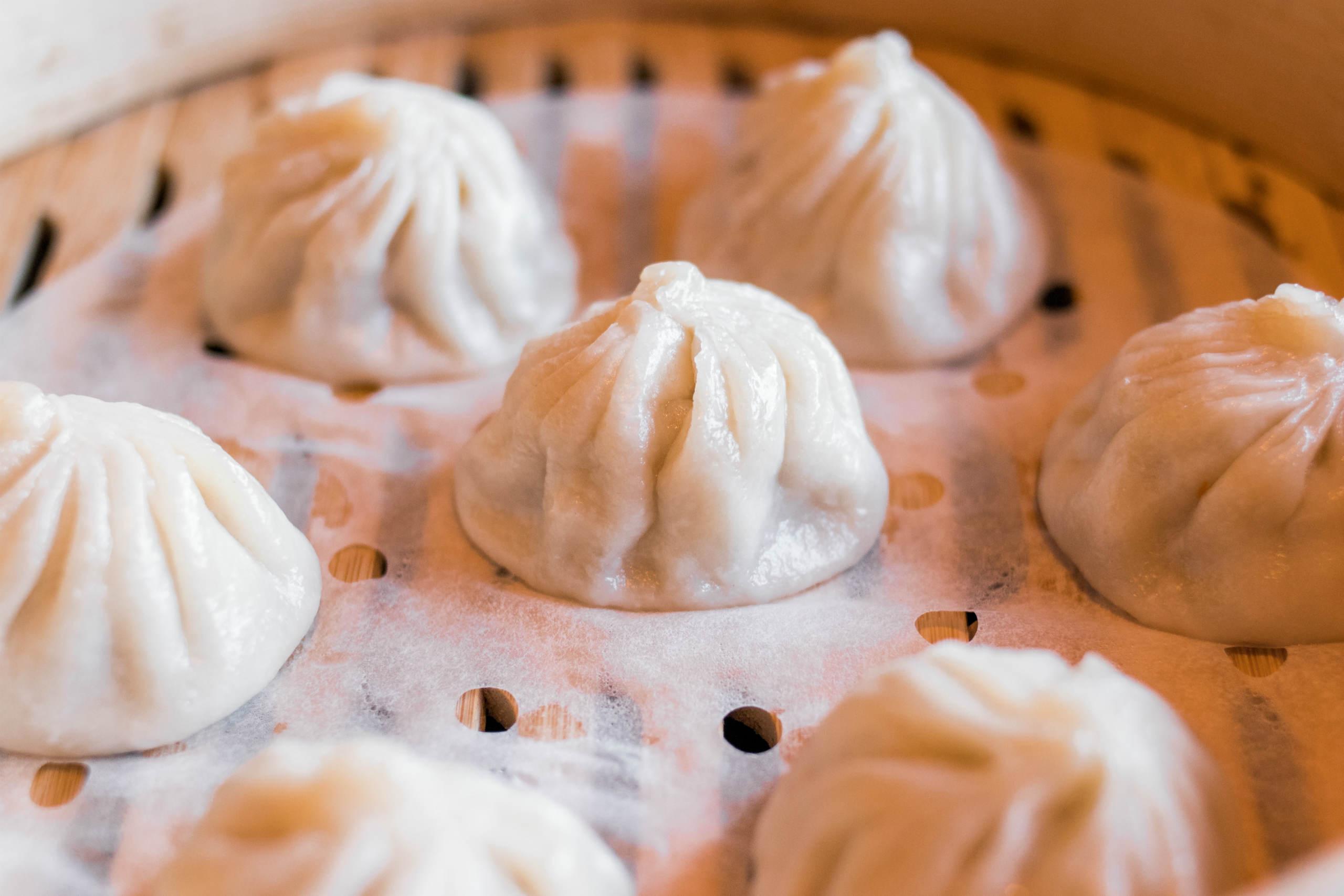 Macau dishes xiao long bao