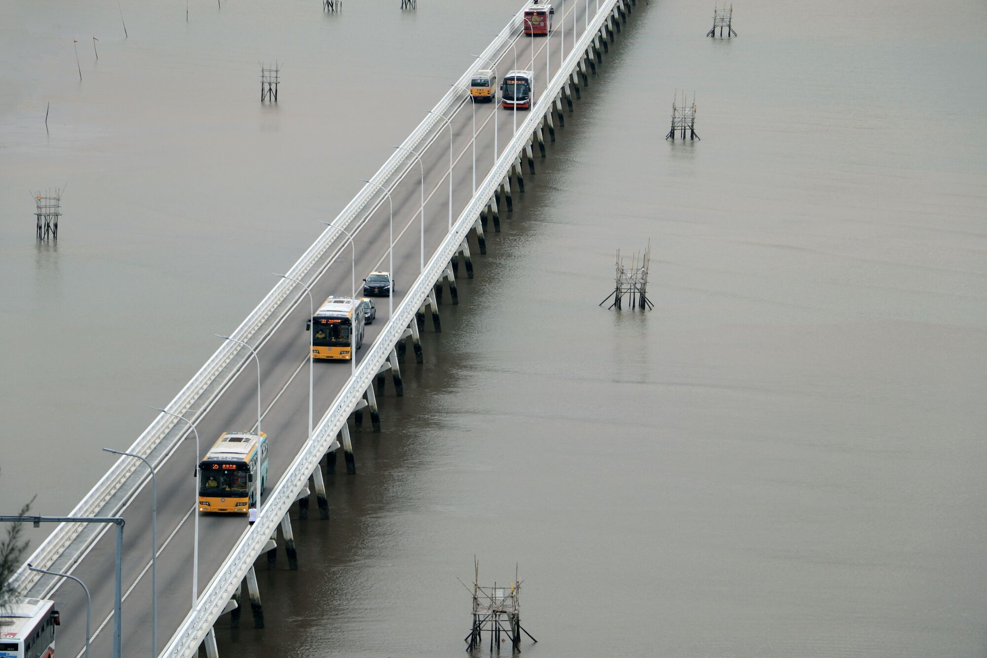 macau buses bridge -photo-agency
