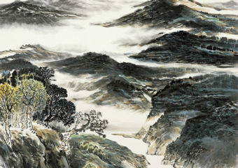 Landscape-Painting-Exhibition-by-Xu-Qinsong
