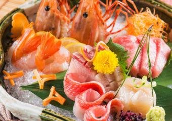 Altira- Tenmasa- assortment-of-sashimi-5-types