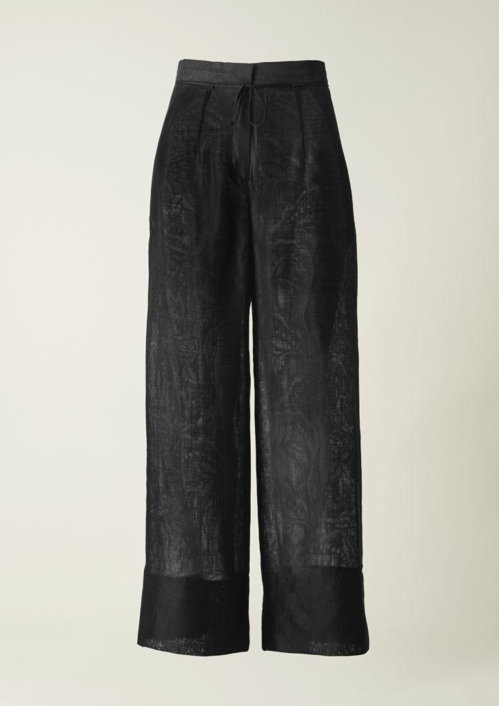 Conscious Exclusive Black Wide Pants