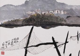 Ink Wash Paintings by Li Zhaoyu