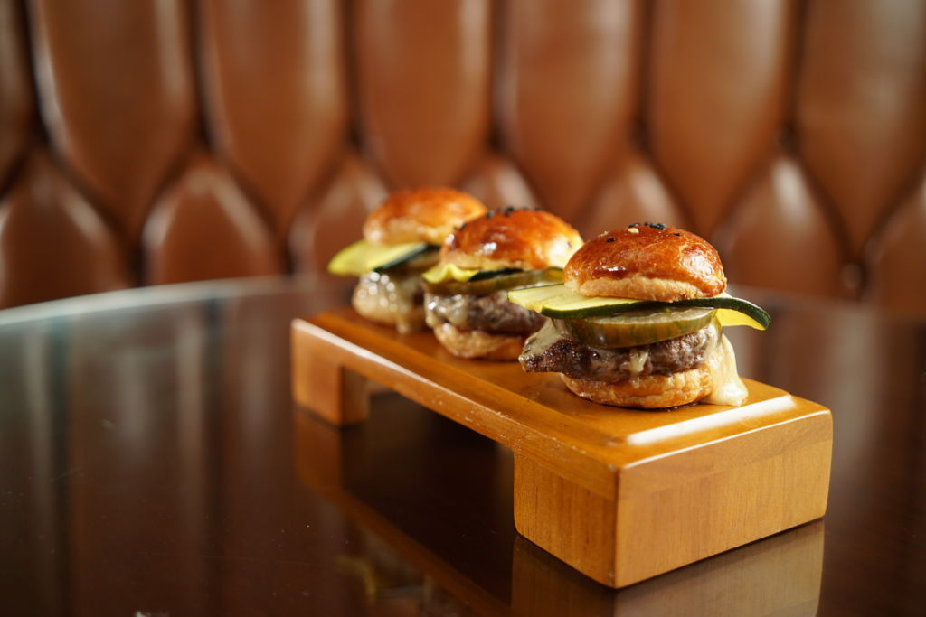 St. Regis Bar Dry Aged Beef Sliders