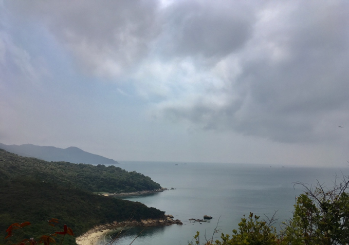 lamma island sea scenery