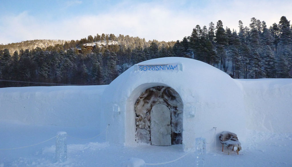 norway igloo hotel