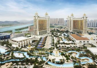 Galaxy Macau aerial shot