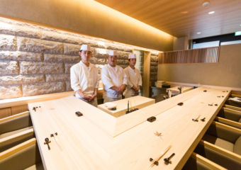 Grand Lisboa Hotel Master Chef Masaaki Miyakawa's culinary team