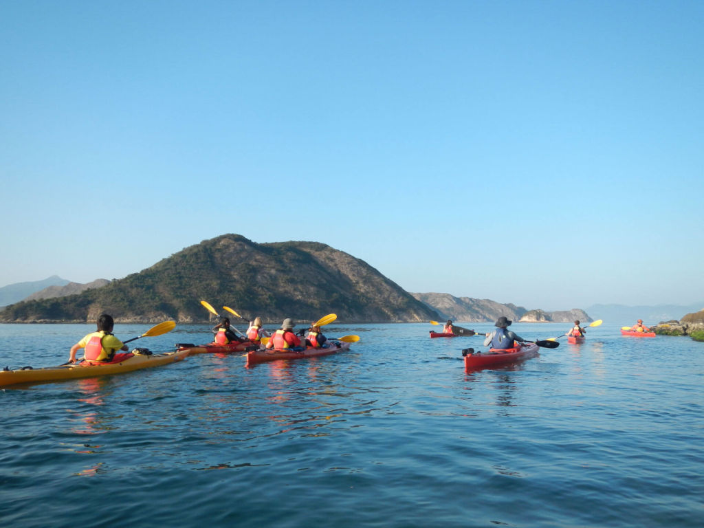 kayaking hong kong