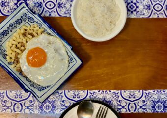 Belos Tempos Minchi with Plain Rice and Plate Shot from Top Macau Lifestyle