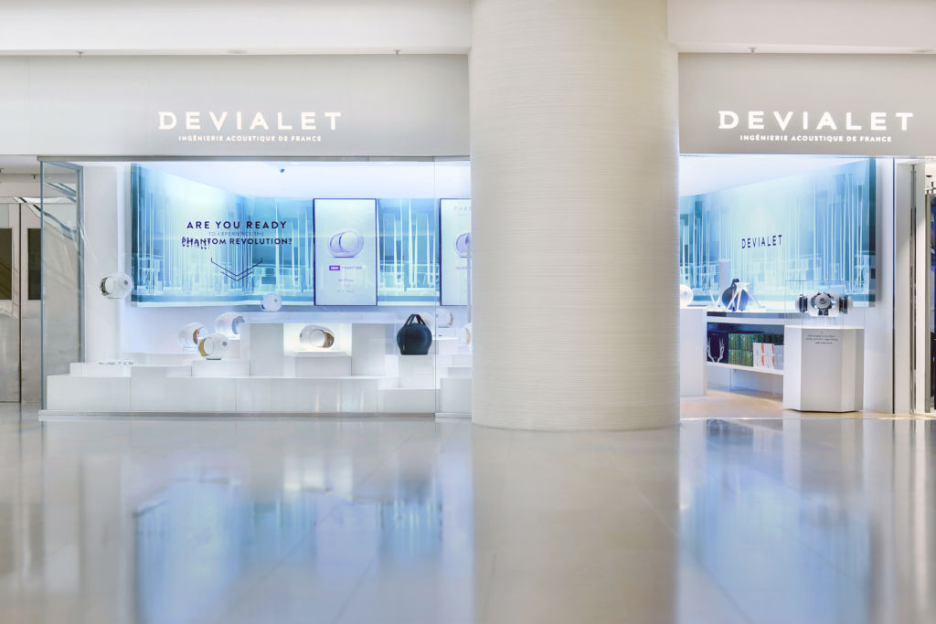 Devialet HK Pacific Place Flagship_Store front 1
