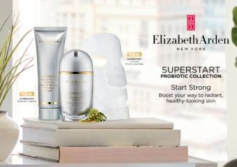 Elizabeth Arden skincare mask