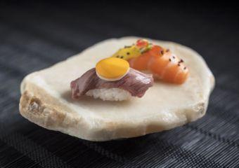 Fresh and tasty creations by Chef Mitsuharu at the Wynn Macau.
