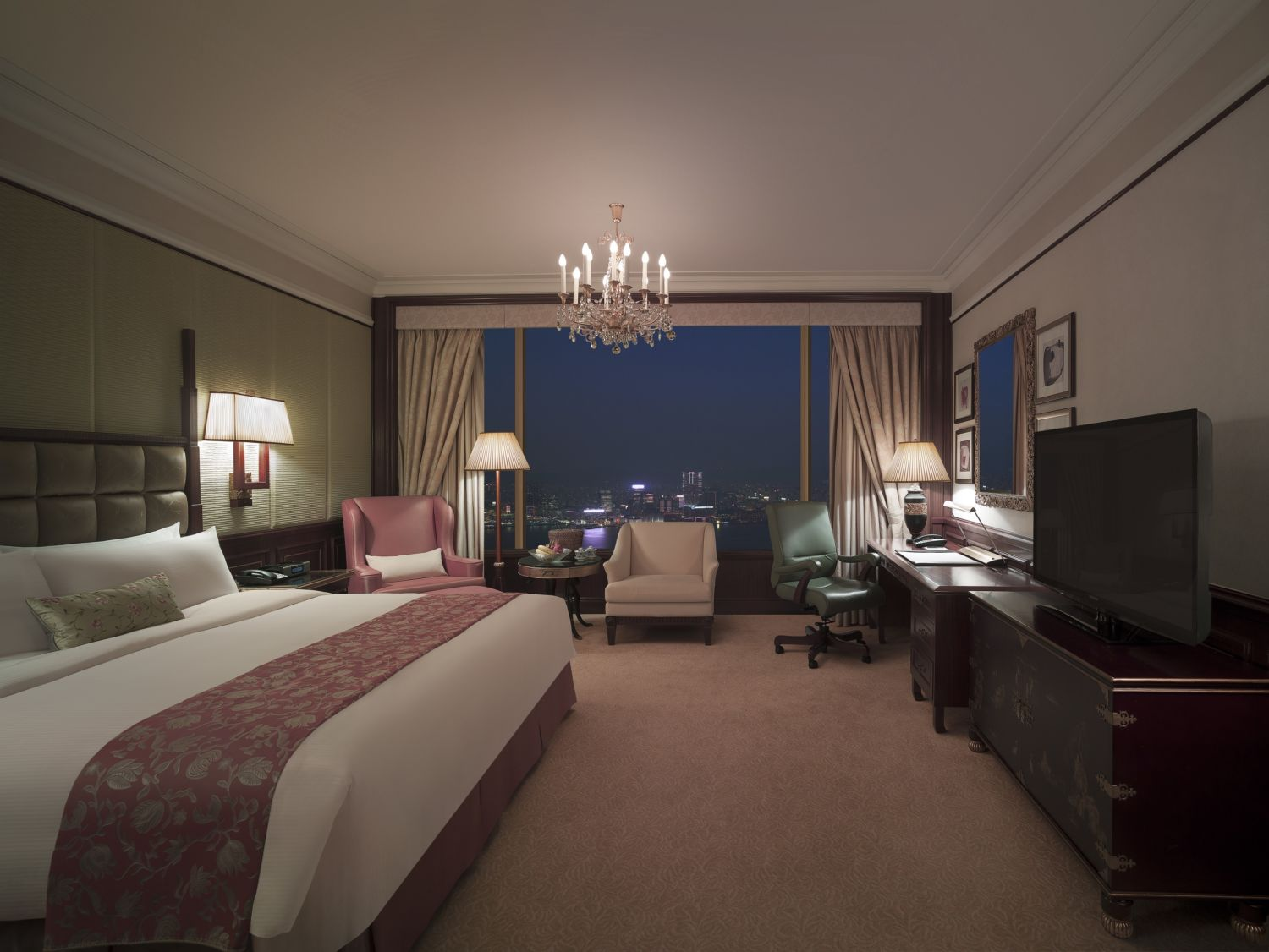 Island Shangri-La Hong Kongl Deluxe Harbour View Room