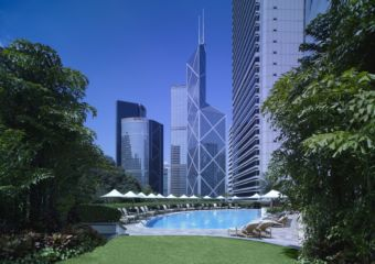 Hong Kong Island Shangri-La Hotel Swimming Pool