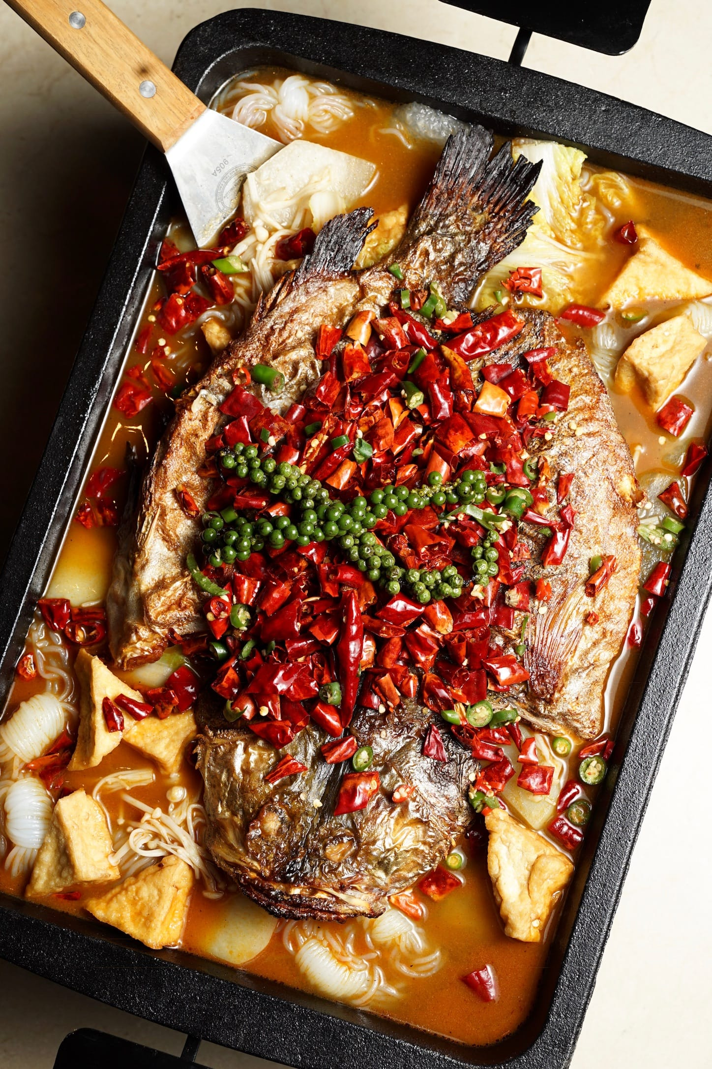Xin Sichuan Hot and spicy grilled fish