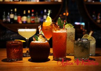 Antica Trattoria cocktails