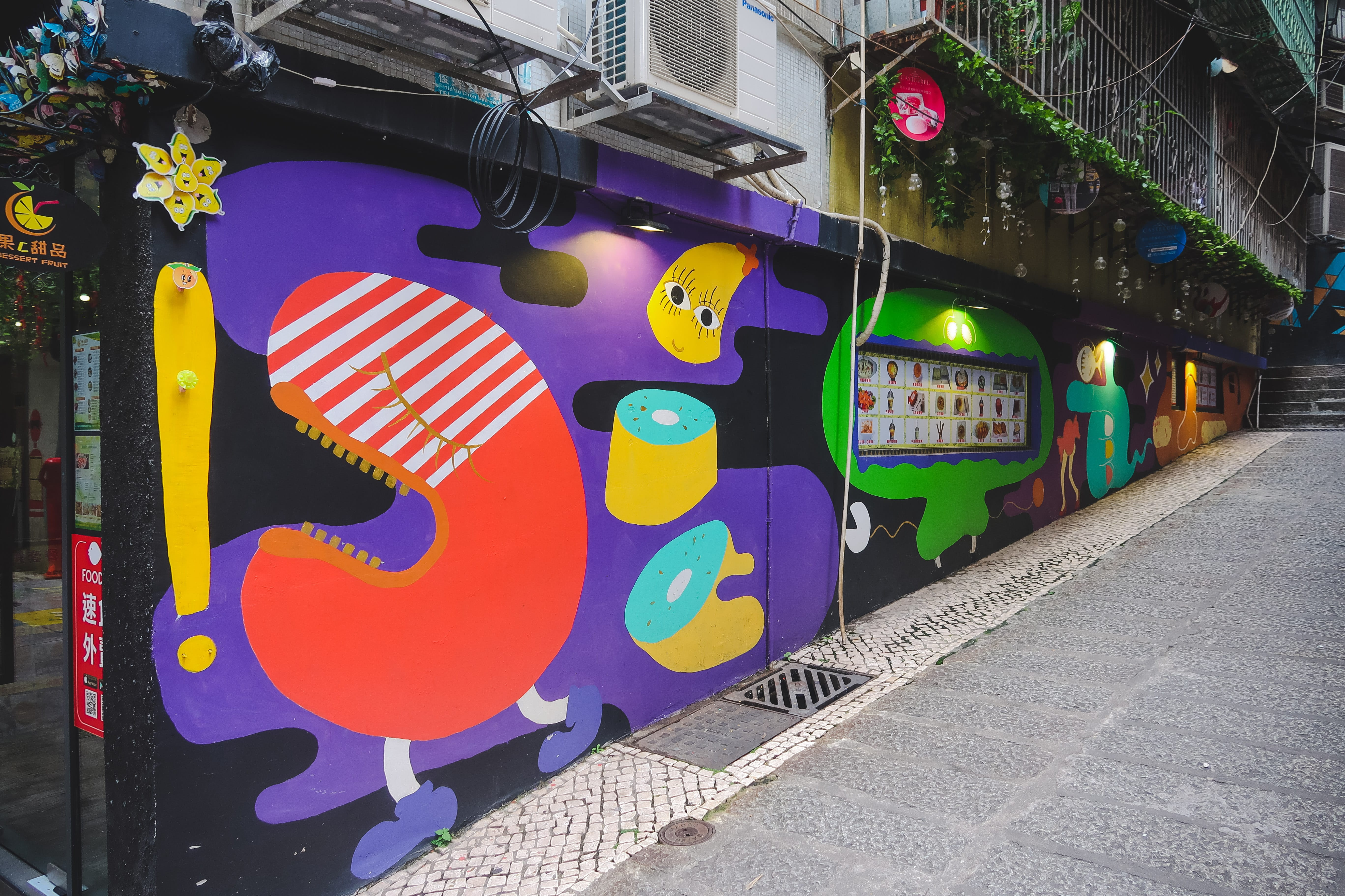 Macau street art porto street