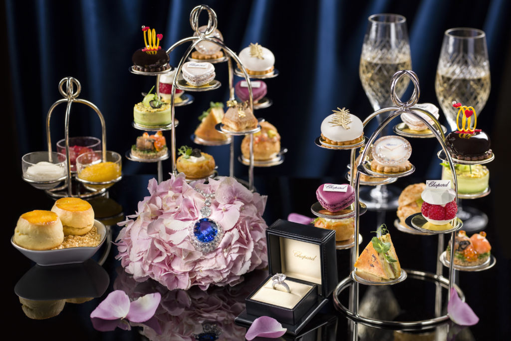 Wynn and Chopard tea set at Wynn Palace Macau