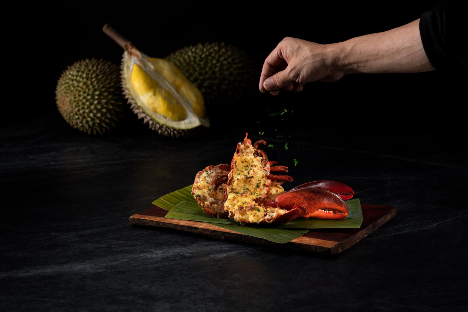 7th Malaysian Food Festival at Galaxy Macau Baked Lobster with Durian and Cheese