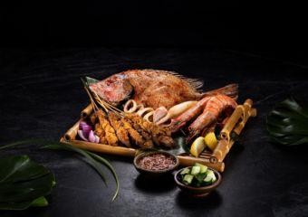7th Malaysian Food Festival at Galaxy Macau Penang Seafood Bakar and Kajang Satay