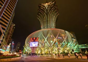 Grand Lisboa exterior Macau Lifestyle